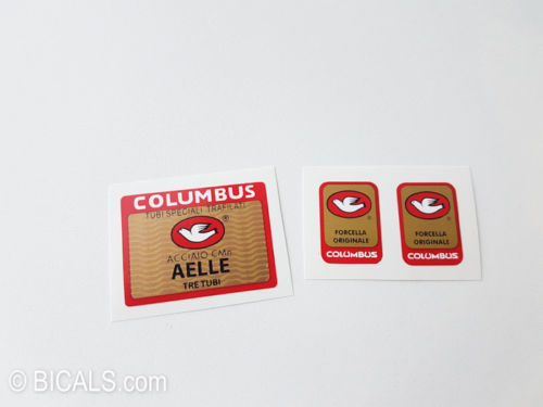 Columbus AELLE TRE TUBI decal BICALS