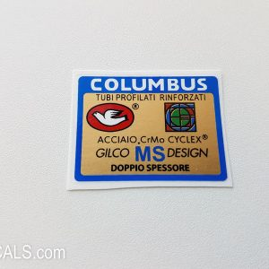 Columbus Gilco MS design decal BICALS