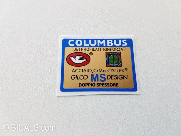 Columbus Gilco MS design decal BICALS