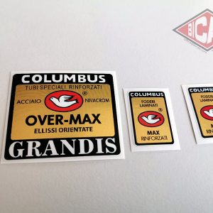 Columbus Over Max Grandis decal BICALS
