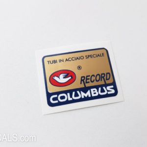 Columbus RECORD decal BICALS