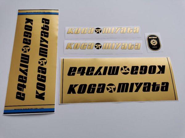 Koga Miyata Full Pro decal set BICALS 3