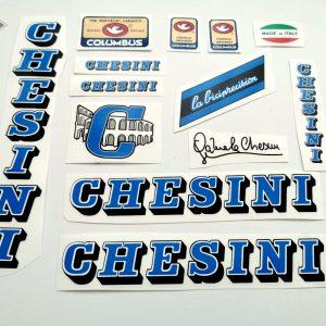 Chesini V3 blue decal set BICALS