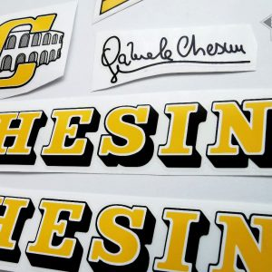 Chesini V3 yellow decal set BICALS