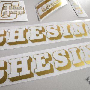 Chesini V4 white gold decal set BICALS