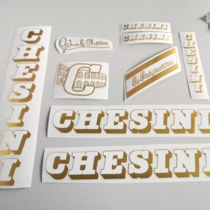 Chesini V4 white gold decal set BICALS