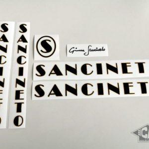 SANCINETO black decal set BICALS