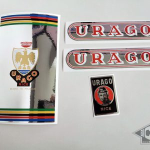 Urago silver foil decal set BICALS