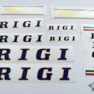 Rigi cicli dark blue decal set BICALS