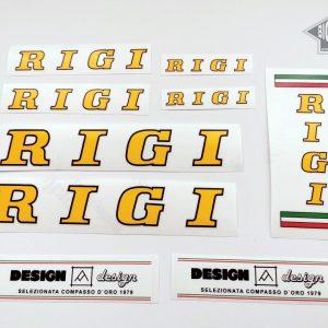 Rigi cicli yellow decal set BICALS