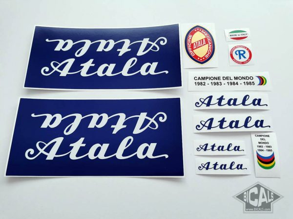 Atala blue decal set BICALS