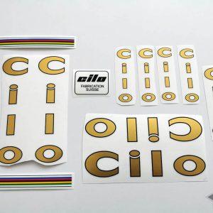 CILO Swiss v1 gold decal set BICALS