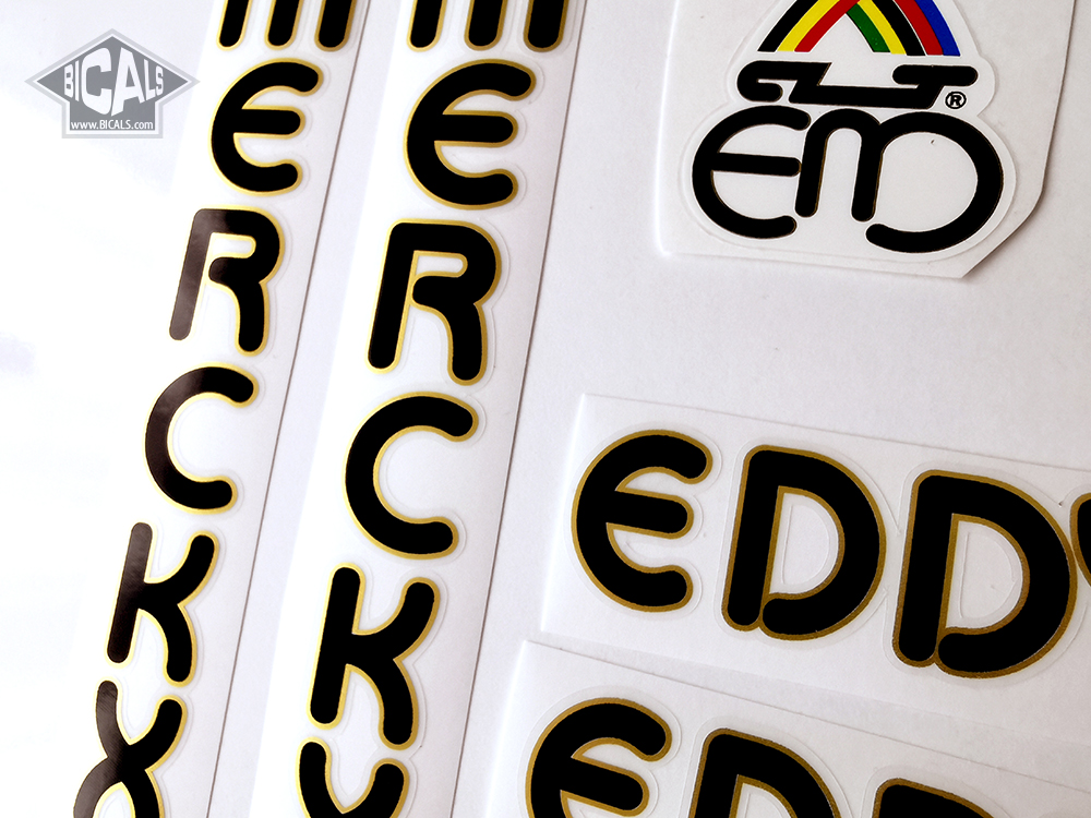 EDDY MERCKX Team Telekom decal set for complete bike silk screen FREE SHIPING