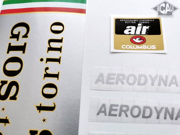 Gios Torini Aerodynamic decal set BICALS 1