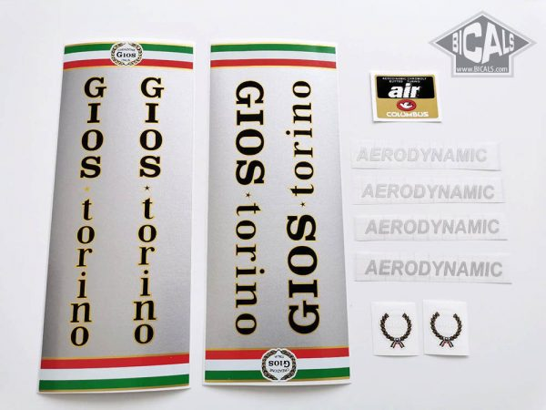 Gios Torini Aerodynamic decal set BICALS