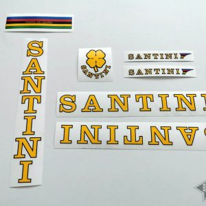 SANTINI Cicli decal set BICALS