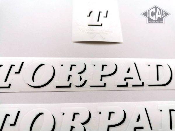 TORPADO Cicli white decal set BICALS 1