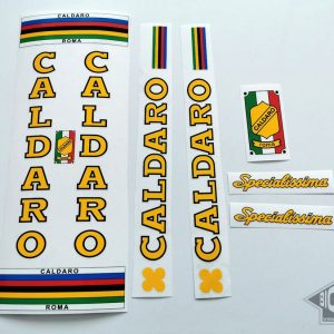 Caldaro Roma Specialisima bicycle decal set BICALS