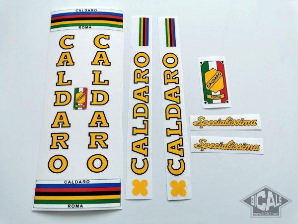 Caldaro Roma Specialisima bicycle decal set BICALS