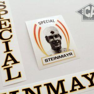 Steinmayr Special black bicycle decal BICALS