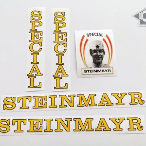 Steinmayr Special yellow bicycle decal BICALS