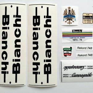 BIANCHI REKORD 748 decal set BICALS