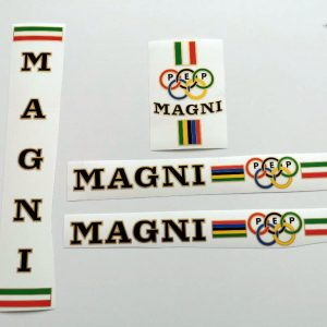 Magni PEP ICS decal set black BICALS