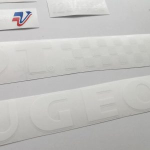PEUGEOT 80s 12 vitesse decal set BICALS