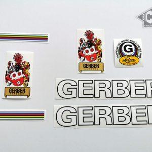 GERBER Aarburg Swiss white decal set BICALS