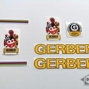GERBER Aarburg Swiss yellow decal set BICALS