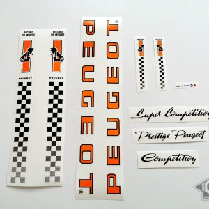 PEUGEOT 80s Competition decal set BICALS