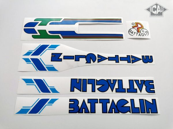 Battaglin V2 blue decal set BICALS