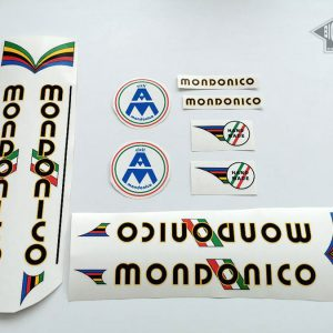 MONDONICO Cicli Italy bicycle decal set BICALS
