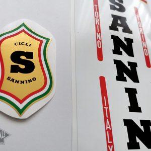 Sannino Cicli Torino decal set BICALS