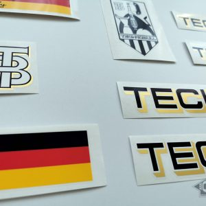 Technobull Germany decal set BICALS