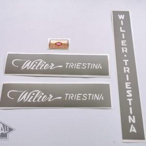 Wilier Triestina Ramata stencil shablon decal set BICALS