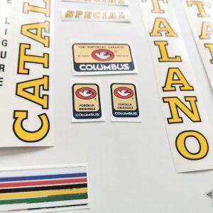 Catalano Special Finale Ligure decal set BICALS