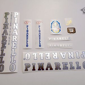 PINARELLO Treviso FCI, late 80s, early 90s, silver letters decal set BICALS