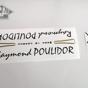 Raymond Poulidor France white decal set BICALS