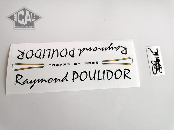 Raymond Poulidor France black decal set BICALS