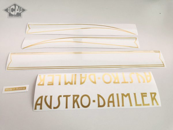AUSTRO DAIMLER V1 decal set BICALS