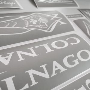 COLNAGO MASTER ART DECOR stencil shablon BICALS