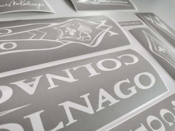 COLNAGO MASTER ART DECOR stencil shablon BICALS 1
