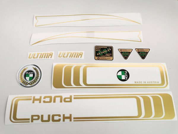 PUCH Ultima early set Reynolds decal set BICALS
