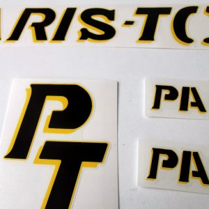 Paris Tours France velo bicycle decal set BICALS