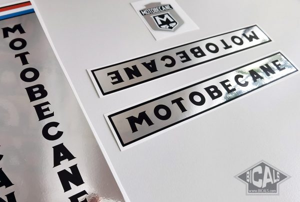 Motobecane Ocana BIC team 1973 decal set bicycle BICALS 1